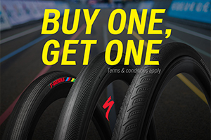 Specialized Tire Bogo – Buy 1 get 1 free!